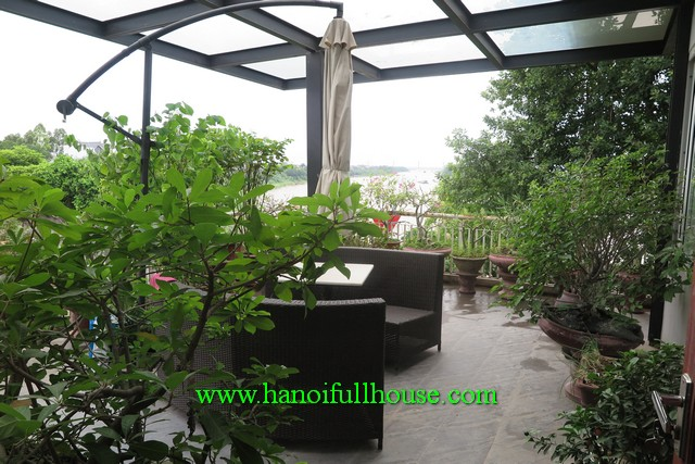 Very beautiful house with large balcony river view yard - Beautiful houses with balcony ...