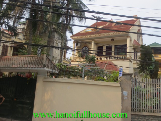 Very cheap house with 5 bedrooms for rent in cau giay dist for Big garage for rent
