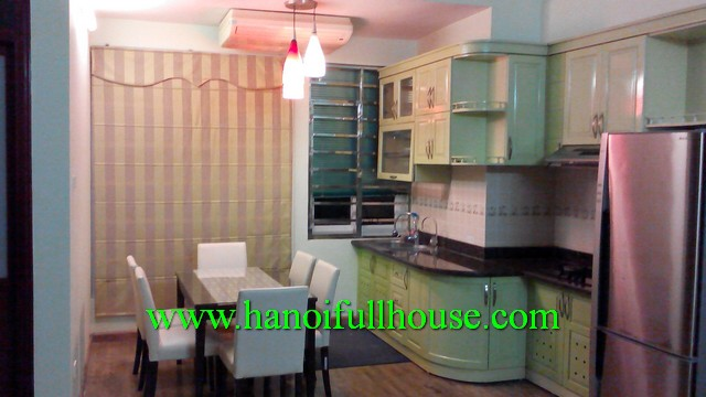 HANOI APARTMENT FOR RENT IN BA DINH DIST