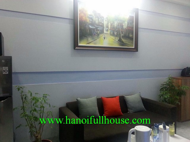 DONG DA- A GOOD SERVICED APARTMENT RENTAL IN LANG HA, FULLY FURNISHED, MODERN DESIGN