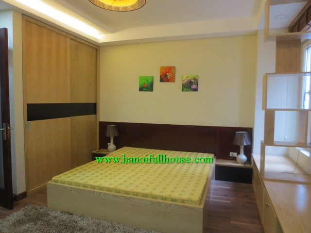 AVAILABLE ONE BEDROOM SERVICED APARTMENT FOR JAPANESE RENT IN BA DINH, HA NOI