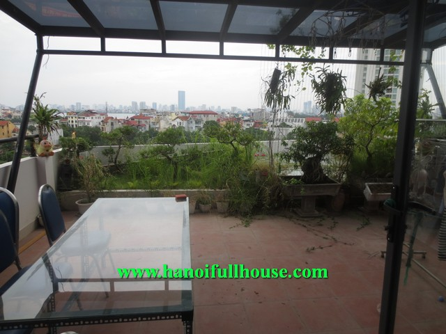 PENTHOUSE 2 BEDROOM WITH NICE GARDEN AND TERRACE FOR RENT, CHEAP RENTAL PRICE 800$/MONTH