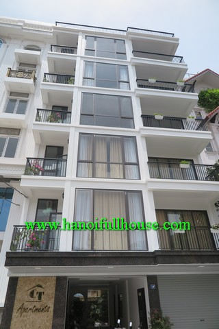 NICE BALCONY, FAR VIEW THREE BEDROOM APARTMENT RENTALS IN TO NGOC VAN STREET, TAY HO