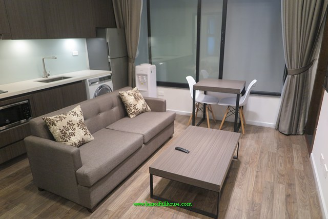 MODERN-STYLE ONE-BEDROOM SERVICED APARTMENT IN TO NGOC VAN, TAY HO FOR RENT