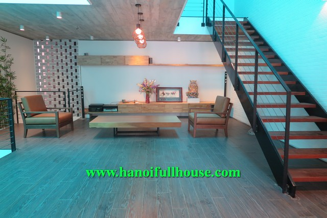 AN EUROPEAN HOUSE WITH 3 BR, 3 BH FOR RENT IN TAY HO, HA NOI