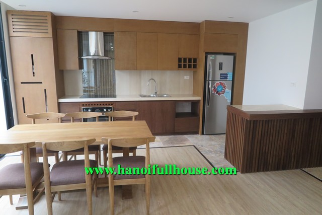 PERFECTLY BEAUTIFUL THREE BEDROOM SERVICED APARTMENT RENTAL IN XUAN DIEU, TAY HO, HN