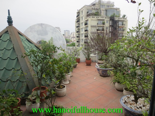 FULLY FURNISHED APARTMENT FOR RENT IN THE HEART OF HA NOI CITY, HOAN KIEM DIST