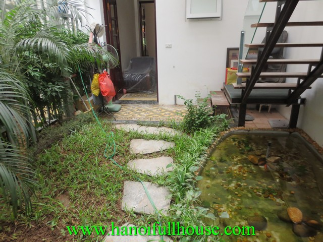 UNFURNISHED HOUSE WITH FRENCH STYLE FOR RENT IN HAI BA TRUNG DIST, HA NOI