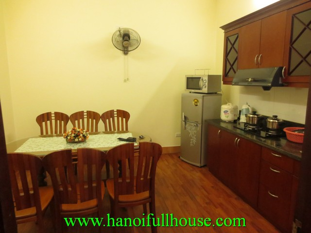 WOODEN FLOOR SERVICED- APARTMENT WITH 1 BEDROOM FOR RENT IN HOAN KIEM DIST