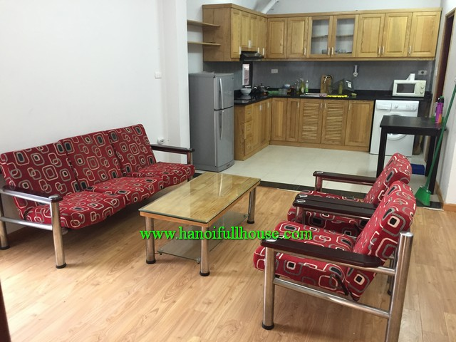 RENTALS AN APARTMENT WITH TWO BEDROOM NEARBY THONG NHAT PARK & VINCOM TOWER HANOI