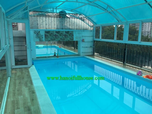 SWIMMING POOL SERVICED APARTMENT WITH TWO BEDROOM, PARK VIEW IN HAI BA TRUNG FOR RENT