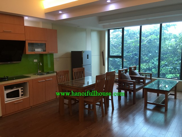BA DINH NICE APARTMENT WITH ONE BEDROOM,FURNISHED FOR RENT