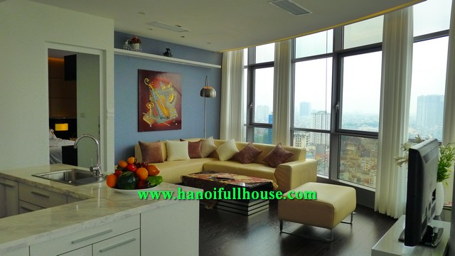2 BRS APARTMENT WITH JAPANESE STYLE IN EUROWINDOW TRAN DUY HUNG, CAU GIAY