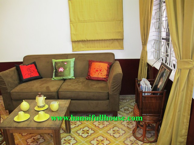 01 BEDROOM HOUSE NEARBY WEST LAKE-TAY HO FOR RENT, CHEAP PRICE IS 550$/MONTH