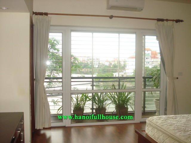West lake view fully furnished serviced apartment for rent in To Ngoc Van street, Tay Ho