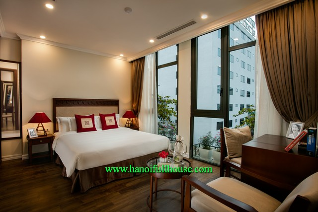 High standard apartment for Japaneses, Westerner stay long time in Hanoi city
