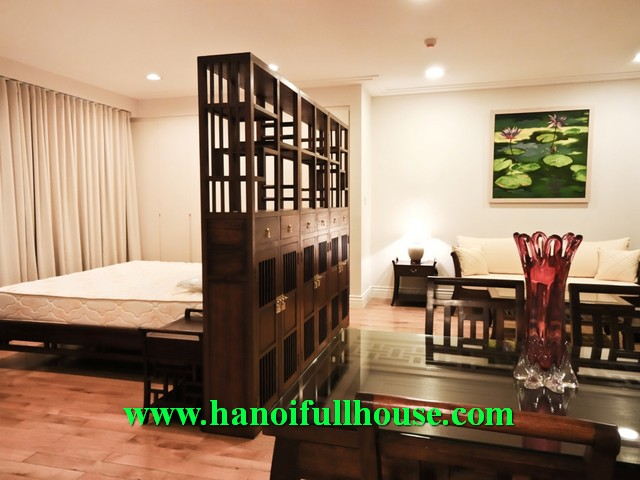 01 bedroom luxurious apartment rental in Hoang Thanh Tower, Mai Hac De street, HBT dist, HN