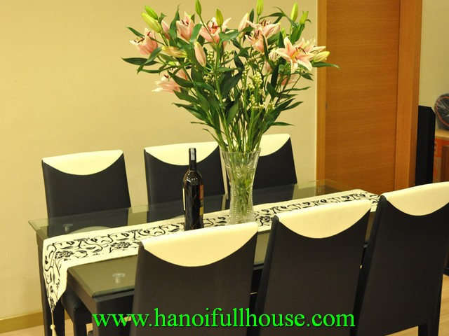 A charming apartment for rent in Skycity 88 Lang Ha street, Dong Da district, Ha Noi