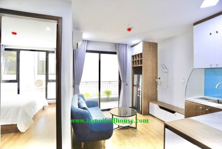 A beautiful apartment in To Ngoc Van with full of light, big balcony, fully furnished