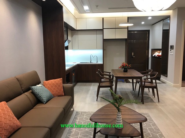 Brand new furnished apartment in Sungrand Thuy Khue street, great Westlake view