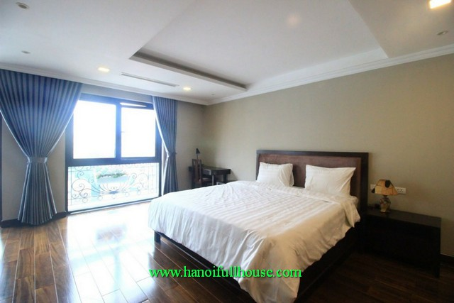 Very modern 2 BR-serviced apartment in Bui Thi Xuan street, Hai Ba Trung dist. Its close to Vincom Tower
