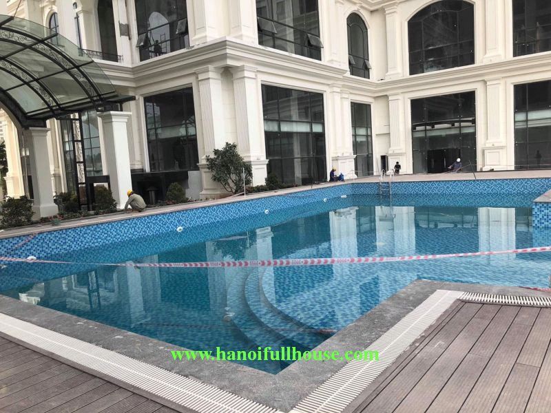 2 bedrooms apartment on Sunshine Riverside Tay Ho, Nhat Tan bridge view.