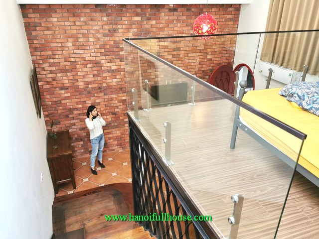 A wonderful house in central Hanoi! Its very nice and fully furnished for lease