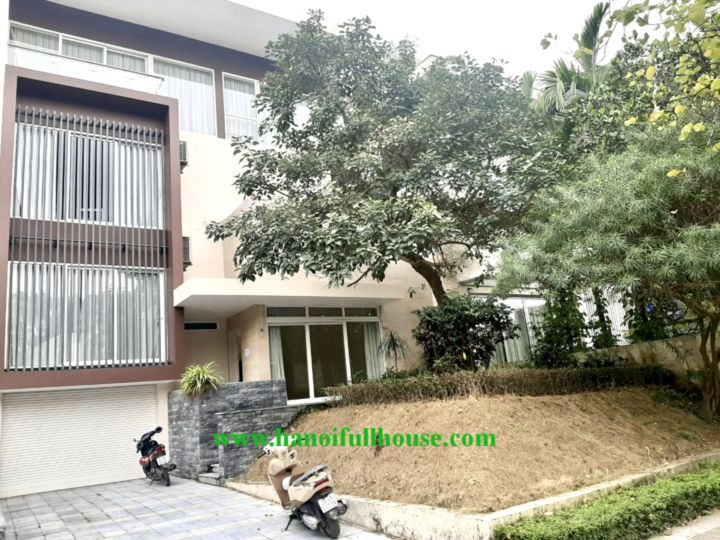 The most luxurious villa in Hanoi for rent - ciputra urban area, Q zone, best security.