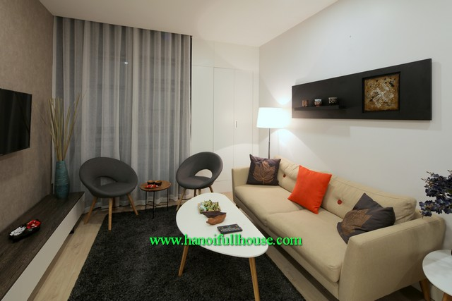 Lucky 2 bedroom apartment with swimming pool & gym at Lancaster-Hanoi for Japanese