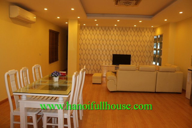 Serviced apartment with two bedroom for rent in Long Bien, Ha Noi
