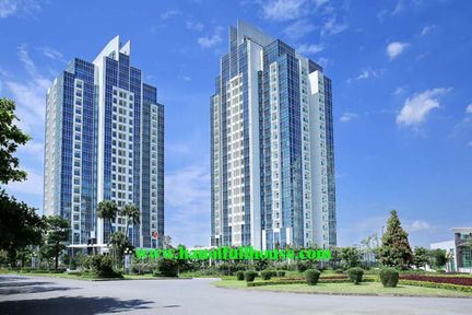 Large 3 bedrooms apartment in Ciputra - The Links Tower for rent