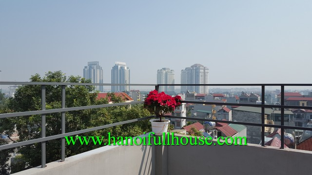 High quality brand new studio serviced apartment in Xuan Dinh, Tu Liem, HN