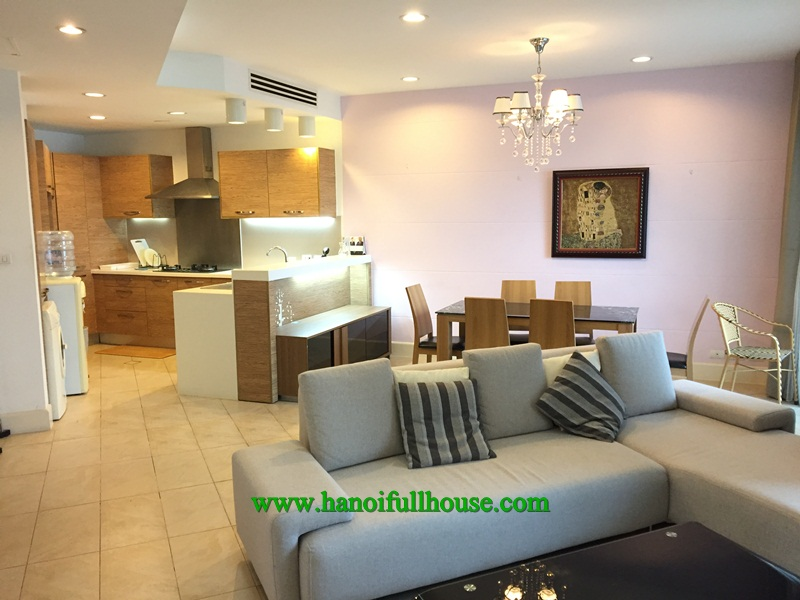 Modern apartment with 2 bedrooms, luxury furnished and equipped for rent now