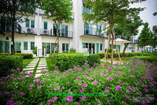 750$/month to rent an unfurnished villa at Park City-Ha Dong. Your second home in Hanoi