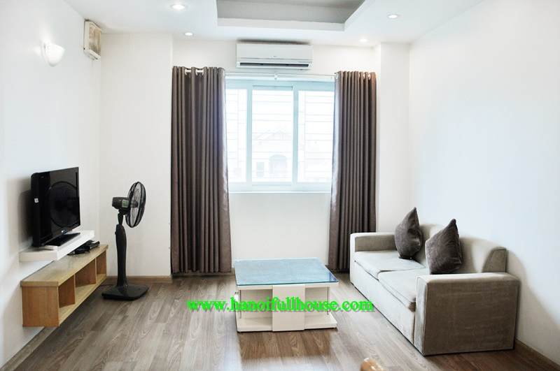 Modern One-bedroom Serviced Apartment for rent with only 650$/month in Ba Dinh district