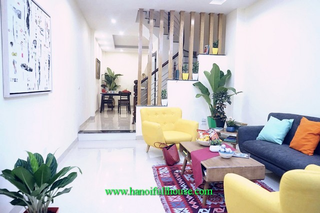 House in Ngoc Thuy to rent. 4 bedroom furnished house in Long Bien for Expats