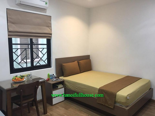 Cau Giay- New apartment 1 bedroom furnished for rent in Tran Duy Hung, close to Big C supermarket