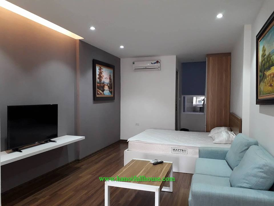 New apartment with modern furniture in Ngo Tat To for rent, 500 USD/month