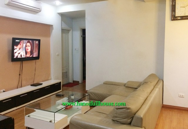 Beautiful three bedroom apartment rental in Kinh Do building, 93 Lo Duc street, Hai Ba Trung dist