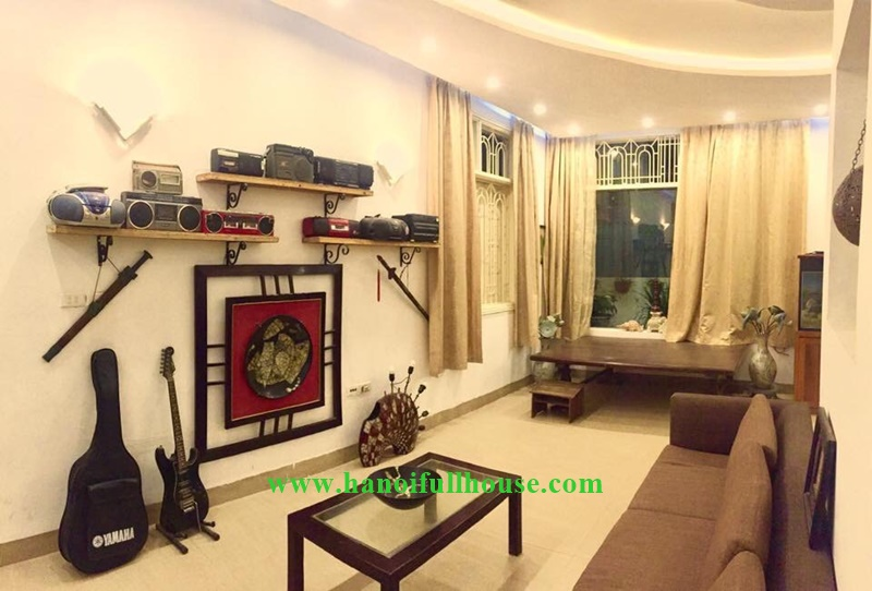 Hanoi housing with 06 bedrooms, full furnished for rent in Tay Ho