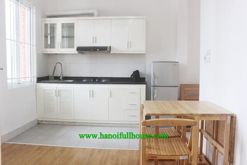 Ba Dinh: One bedroom with balcony is available now