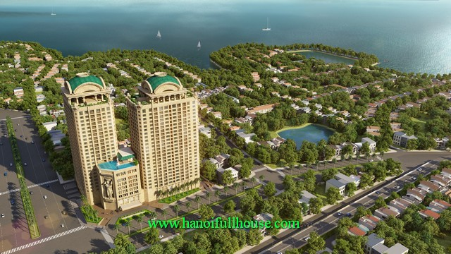 Luxury apartments in D. Le Roi Soleil-Tan Hoang Minh Building for Expats