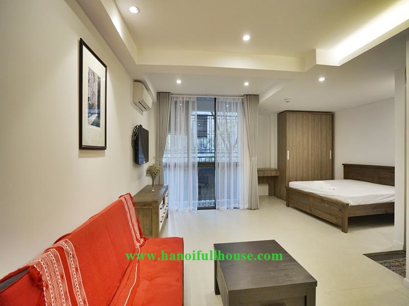 Newly furnished studio for rent in Vong Thi, Tay Ho