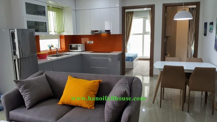 Ciputra apartment - The Link Tower with 02 bedrooms, 02 bathrooms, lots of natuaral light.
