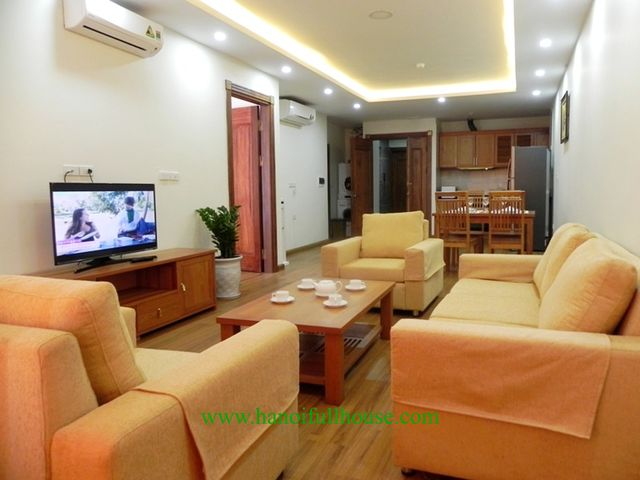 Big one bedroom BHK with balcony, full service in Hanoi center