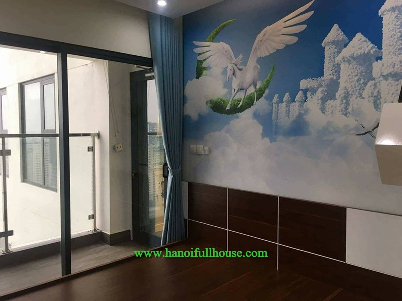 Nice apartment in Imperia Garden Nguyen Huy Tuong for rent