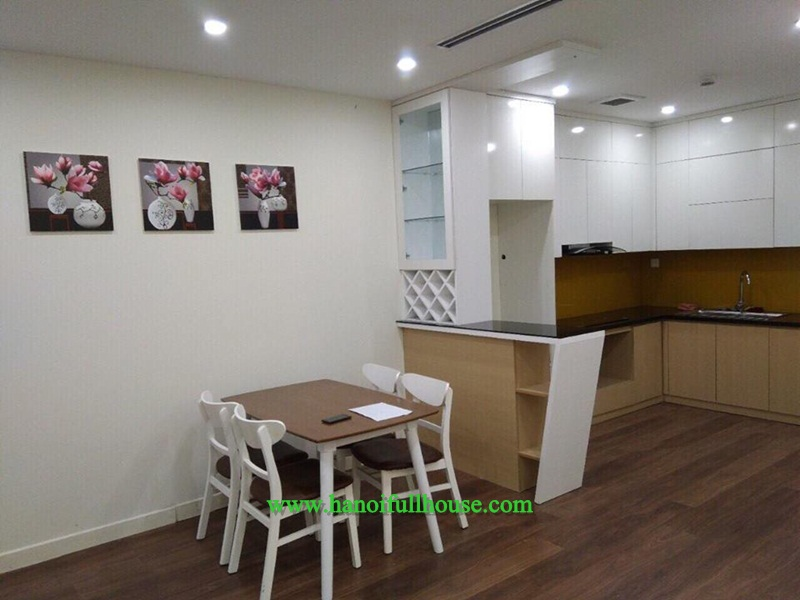 Two bedrooms modern apartment, lots of light in Imperia Garden for rent