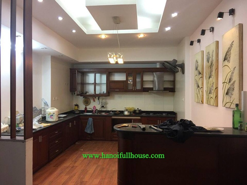 Un-furnished house in Tu Liem for rent, four bedrooms
