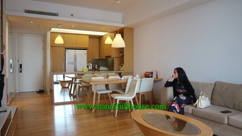 Luxury, 2 bedroom apartment in Indochina Plaza - 241 Xuan Thuy street, Cau Giay Dist for rent.