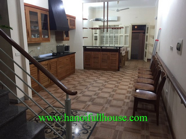 2 bedroom house with yard & terrace, fully furnished for rent in Hai Ba Trung dist